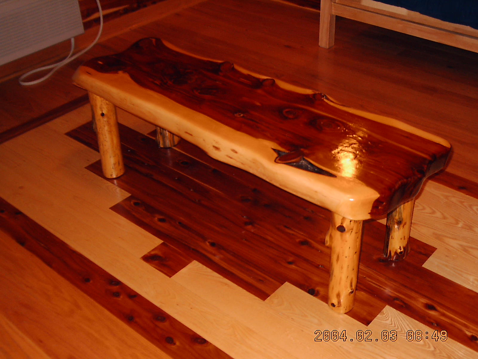 Rustic furniture Red cedar