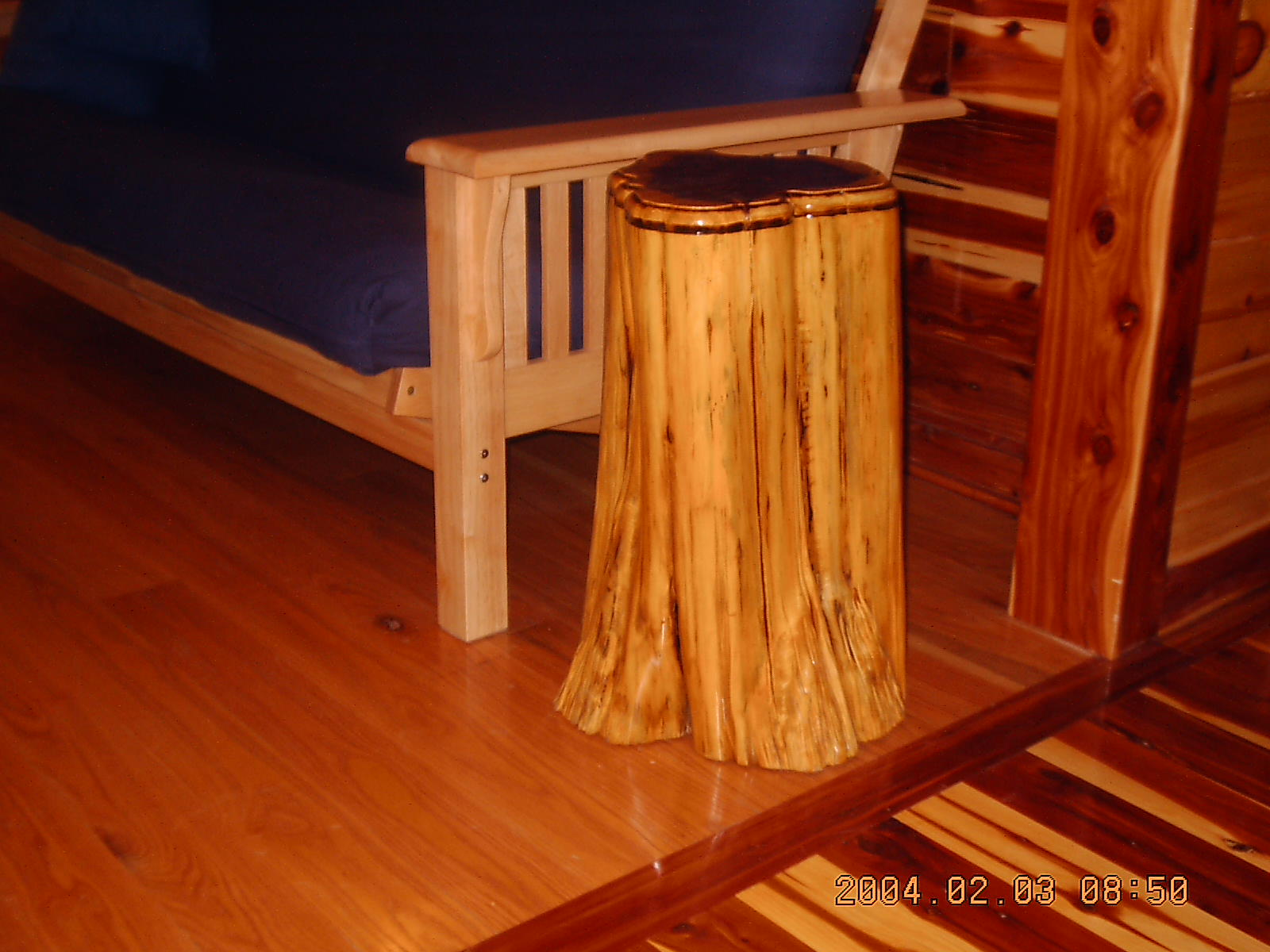 Red Cedar And Yellow Pine Log Siding, V Groove, Lumber From Silver ...